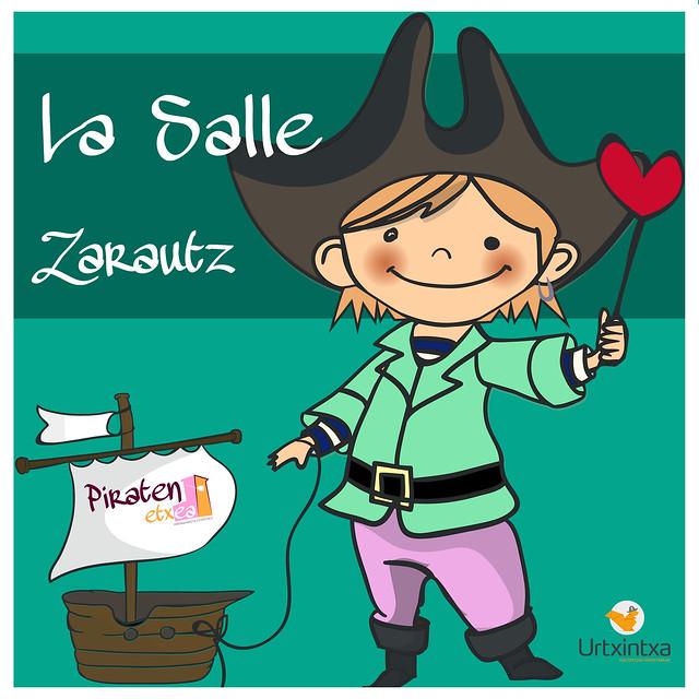 Pirata egonaldia- La Salle Zarautz 2019.04.3-2019.04.4