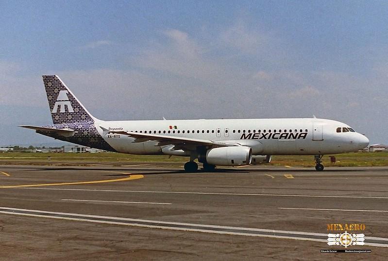 Mexicana / Airbus A320-231 / XA-RYS