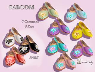 baboom gacha 01-shoes-balerina- | by Baboom by Kyra Camel
