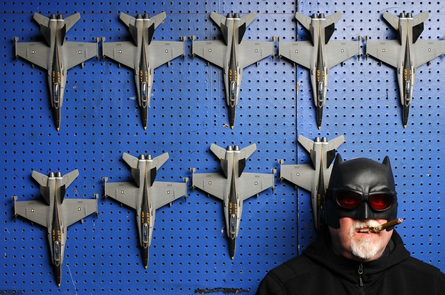 Batman and VFA 27