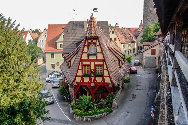羅騰堡城牆上望城區 5