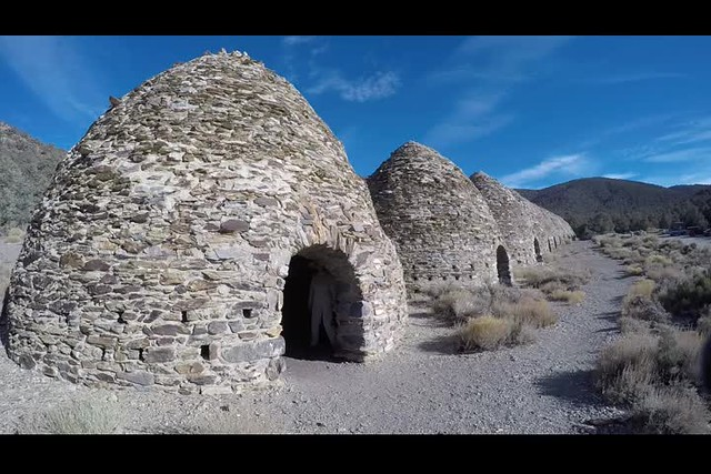 0660 GoPro video of one of the Charcoal Kilns in Death Valley National Park