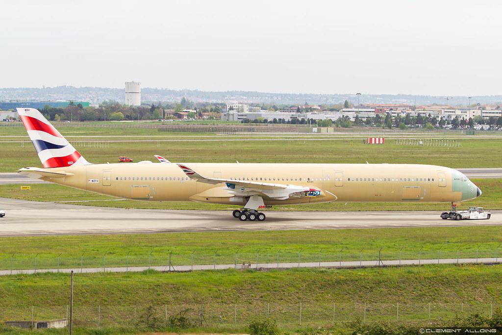 British Airways Airbus A350-1041 cn 326 F-WZFH // G-XWBA