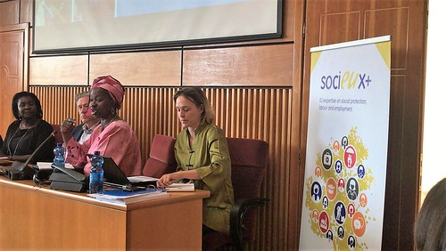 #ISPSAddis conference   by SOCIEUX+ EU Expertise on Social Protection, Labour