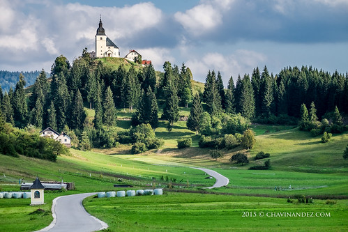 adaptability cerkevsvlenart colorimage day ecosystem europe forest forestry horizontal mountain nature nopeople outdoors retje ribnica rural ruralenvironment slovenia travel worlddestinations worldlocations church countryside ruralscape eslovenia si