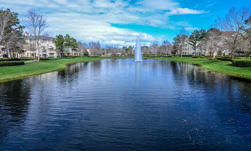 Saratoga Springs fountain
