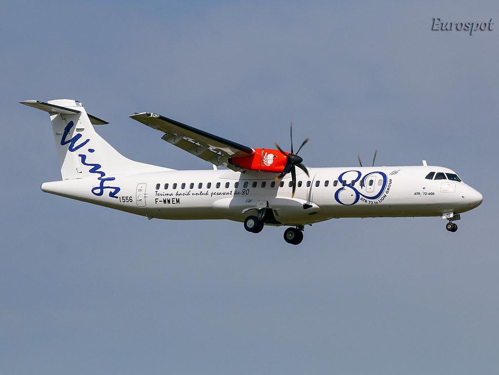 F-WWEM ATR72 Wings