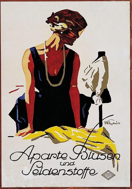 Distinctive blouses and silk fabrics (c.1920)