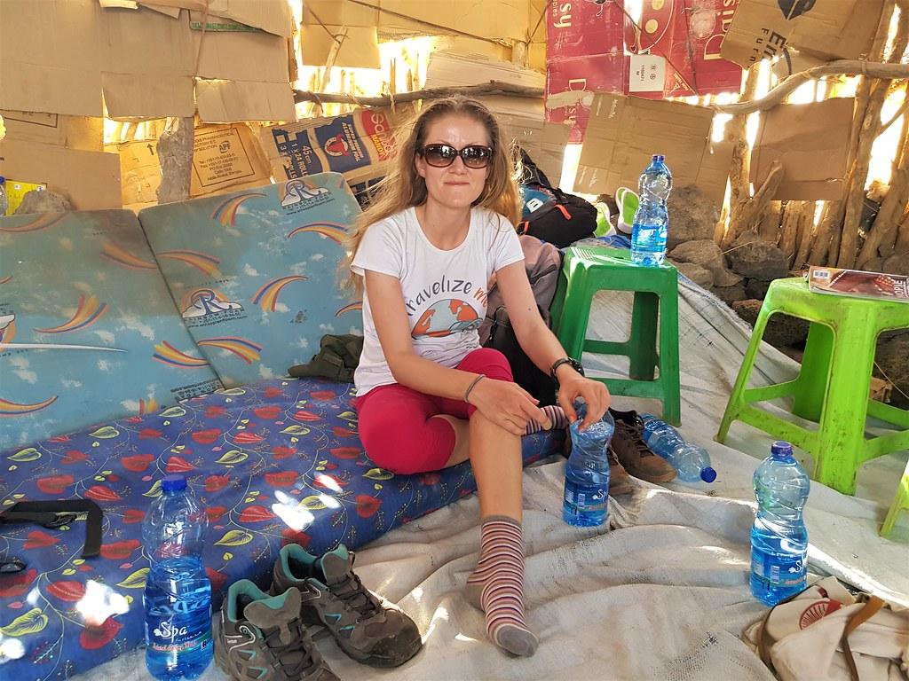 W drodze do Erta Ale, Etiopia