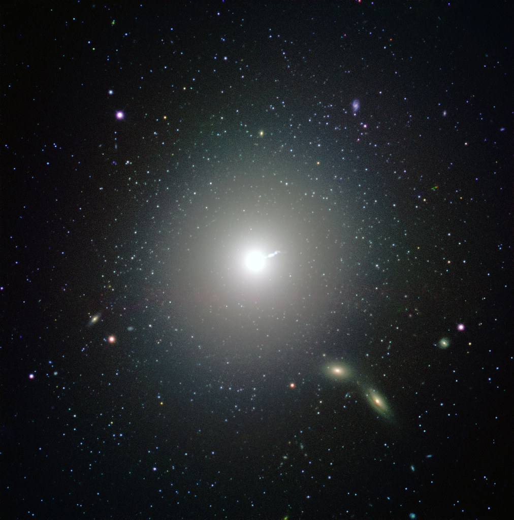 "M87, Home of the Black Hole ""Seen"" by the Event Horizon Telescope, variant"