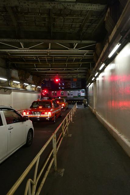 Yoyogi tunnel