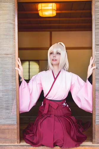 Okita Souji Saber Sakura (Fate/Grand Order)   by Calssara
