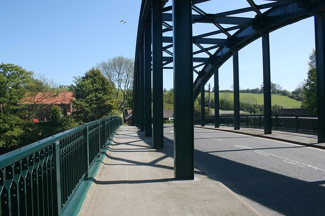 Bridge over the Esk at Ruswarp