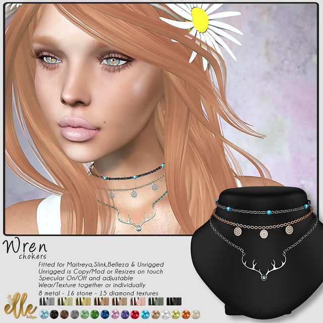 Elle Boutique - Wren Chokers