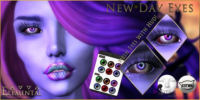 - ELEMENTAL - 'New Day ' Eyes Advert