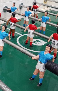 Rainy Foosball players