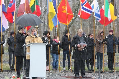 Landtagspräsidentin bei Gedenkveranstaltung anlässlich -74 Jahre Befreiung KZ Buchenwald- | by Thüringer Landtag