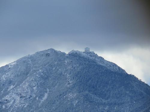 mountains snow santaritamountains sonorandesert rural arizona observatory