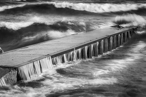 Powerful waves of Lake Ontario pummel the Balmy Beach jetty - Toronto | by Phil Marion (177 million views - THANKS)
