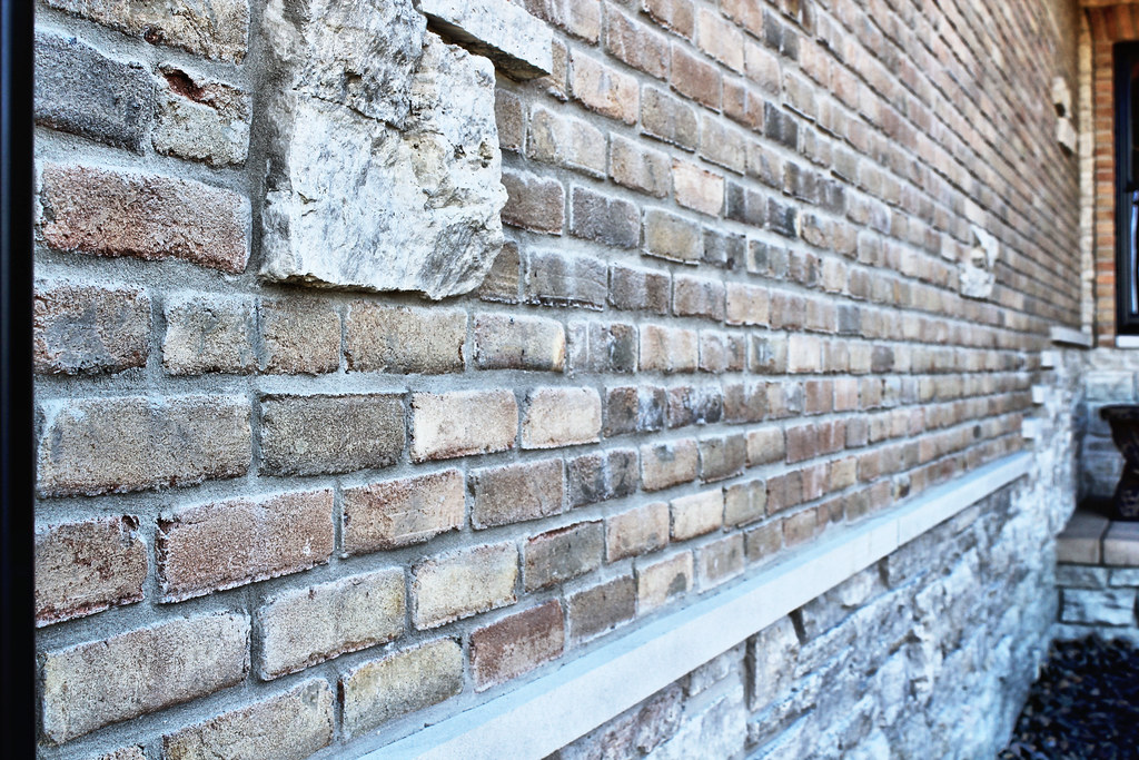 Fond Du Lac Country Squire Stone Fireplace Brick Veneer Flickr