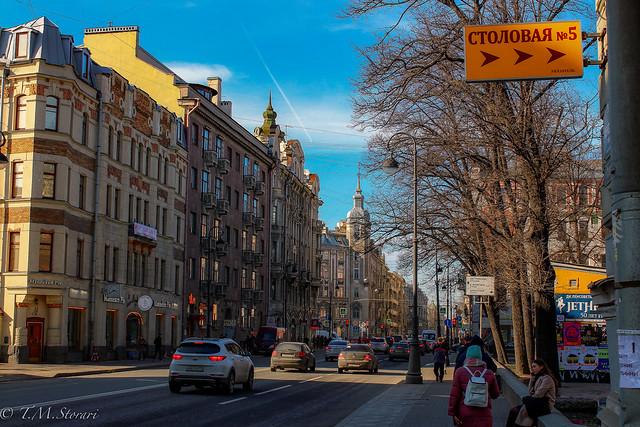 Каменноостровский проспект, St. Petersburg, Russia