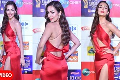 Malaika Arora Looks Gorgeous At the Red Carpet Of ZEE Cine Award