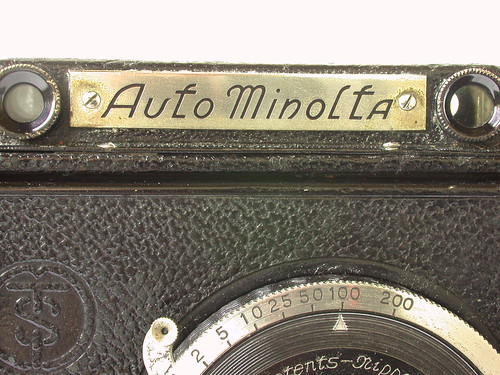 Auto Minolta no.11579: markings | by camerawiki
