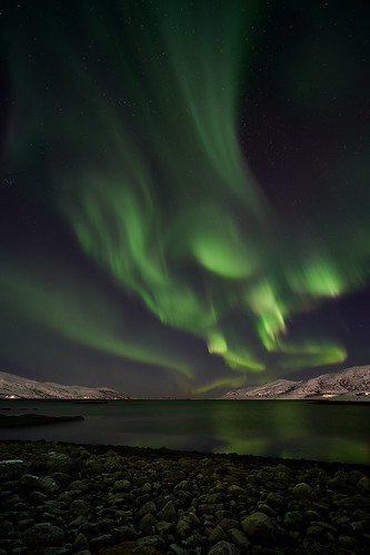 Northern Lights in Skarsfjord | by arfoga