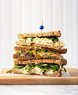 Tofu Egg Salad Sandwiches - 3 ways! | by Yack_Attack
