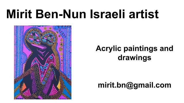 Mirit Ben-Nun artist art exhibit fantasy partner sunshine color