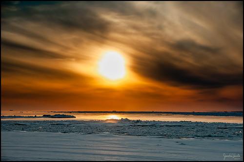 couchersdesoleil sunset hiver winter groupenuagesetciel
