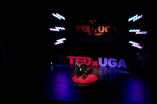 Alton Standifer and Malcolm Mitchell @ TEDxUGA 2019: Amplify