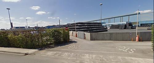 la zone industriâl di RIUI di osôf