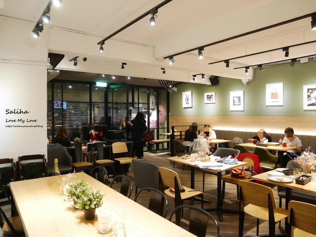 台北松山小巨蛋站餐廳咖啡廳甜點店Bubble Cafe (1)