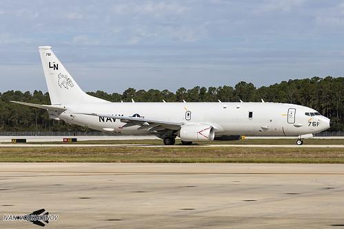 Boeing P-8A Poseidon 168761 LN-761 VP-45 NAS Jacksonville   by Ivan Voukadinov