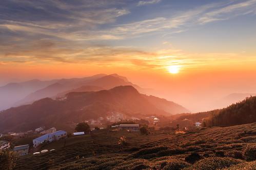 èè² 6d ef2470mm 頂石棹 阿里山國家公園 夕陽 夕彩 日落 sunset 火燒雲 雲彩 雲海
