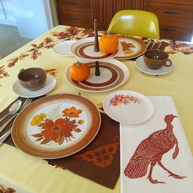 November 2018 table setting