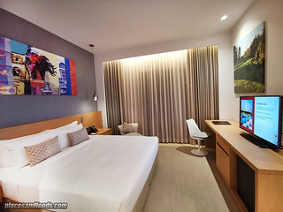 eastin thana city king suite bedroom | by placesandfoods.com