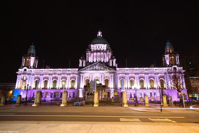 Rathaus Belfast 17.04.18