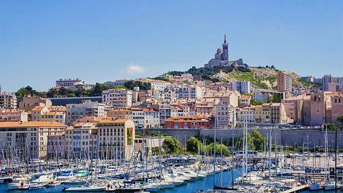 France - Marseille - Notre-Dame-de-la-Garde-Basilica-Cathedral   by monte-leone