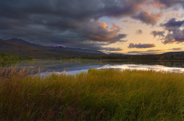 Sundown in Alaska