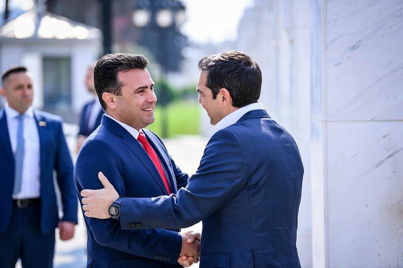 Официјална посета на делегација на Грција на Република Северна Македонија [02.04.2019]