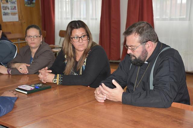 Visita P. Carlo Lira a Pto Natales