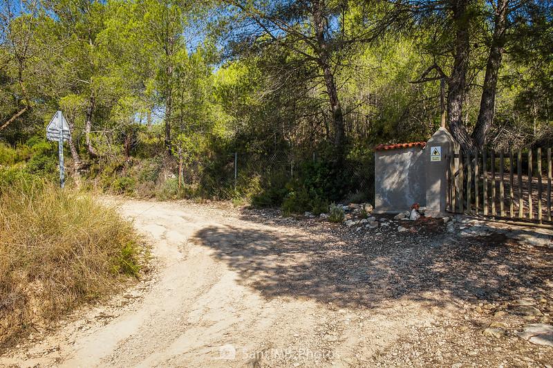 Camino de La Caseta a Viladellops