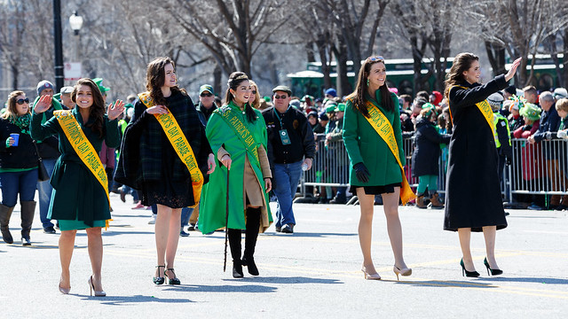 Parade Queen and Court