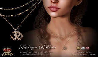 (Yummy) OM Layered Necklace Flickr | by PolyesterPartridge