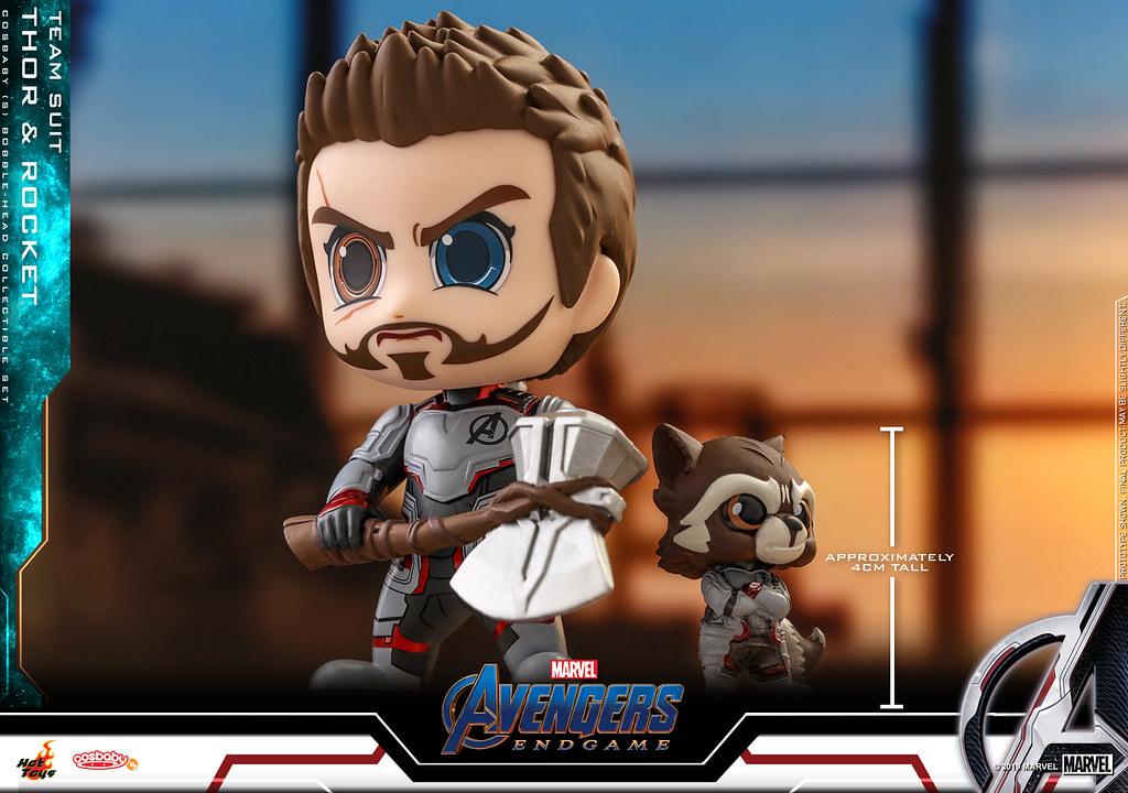 力挽狂瀾的復仇者們,穿上全新制服登場! Hot Toys - COSB549 - COSB552《復仇者聯盟:終局之戰》Avengers: Endgame Cosbaby Bobble-Head Series