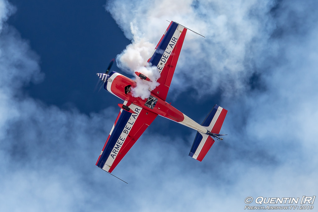 Equipe de Voltige de l'Armee de l'Air Extra 330SC Fly Courchevel Canon Sigma France French Airshow TV photography Airshow Meeting Aerien 2019