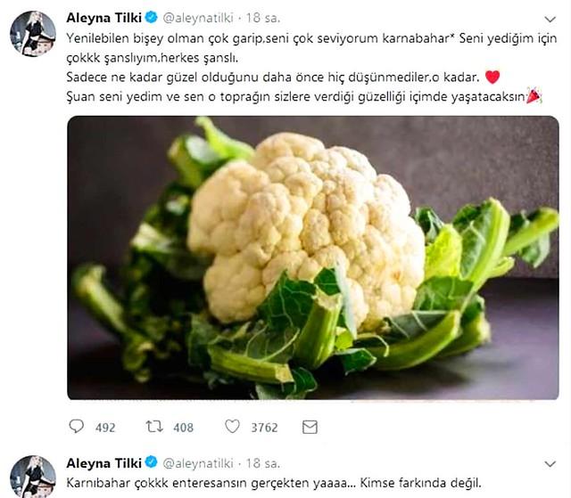 Aleyna Tilki paylaşımıyla pes dedirtti