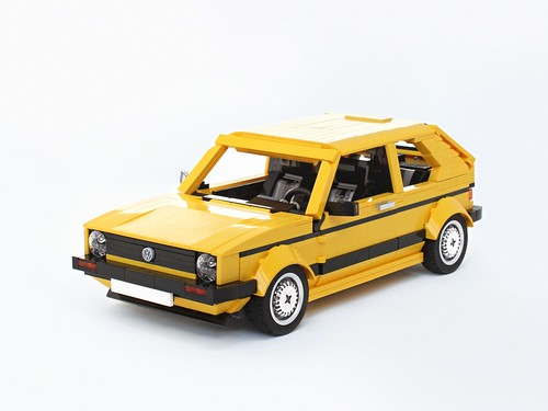 Yellow Golf Mk1 | by BuildMe